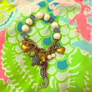 Betray Johnson Seahorse Bracelet